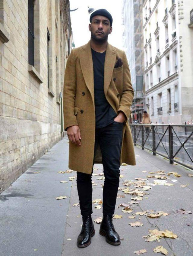 Фото обувь на ноги к пальто мужская