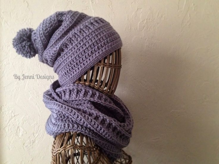 By Jenni Designs: Textured Infinity Scarf.  **Really nice site with pictures & explanations! Thanks Jenni Designs! xoxo**
