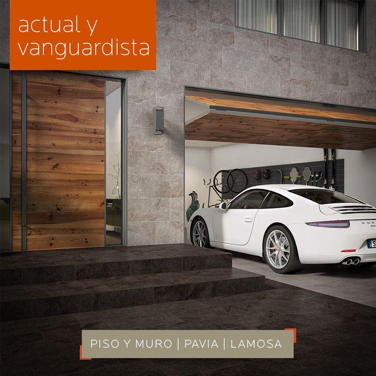 ACTUAL Y VANGUARDISTA | Decora tu #fachada con #pisos y #recubrimientos #Lamosa y descubre los diferentes estilos y acabados que maneja. Ven a DECERAMICA.COM y aprovecha las #promociones que  tenemos.