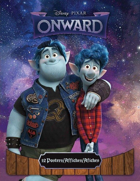 poster book disney pixar onward