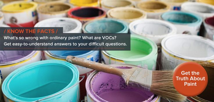 VOC Free, non-toxic paint.  @Lullaby Paints #natural #nursery