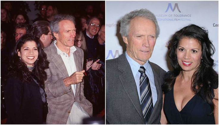Clint Eastwood's then-wife Dina Ruiz Eastwood