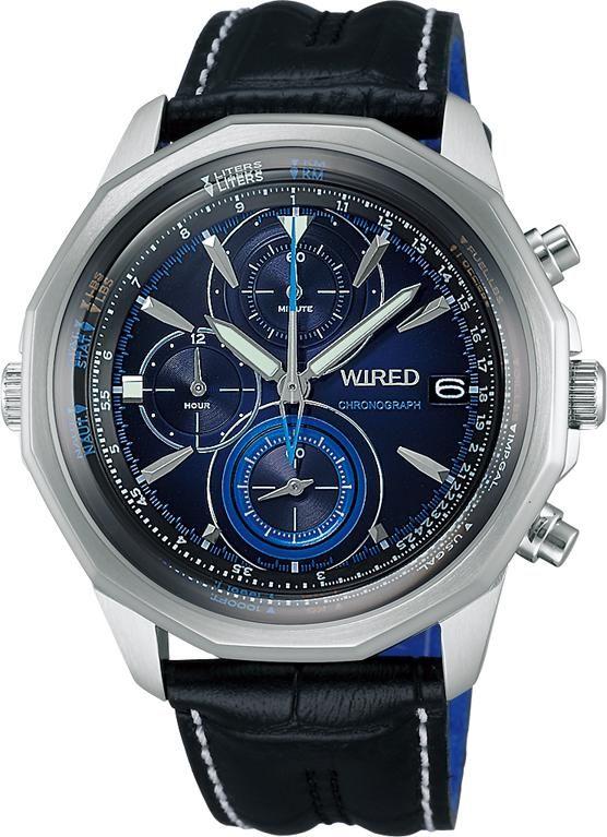 SEIKO ワイアード WIRED 腕時計 THE BLUE ザ・ブルー 丸型モデル AGAW422 メンズ | 商品から探す | ALEXCIOUS