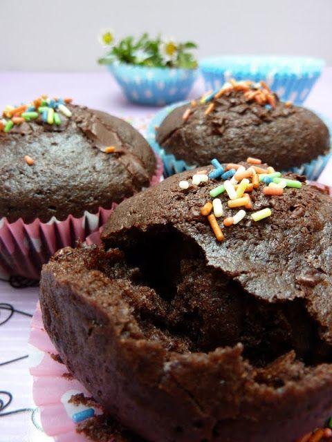 Čokoládové muffiny podle Nigelly Lawson   Jane at home