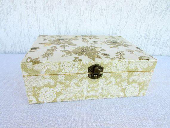 Gold lace box custom gift jewelry box custom handmade box