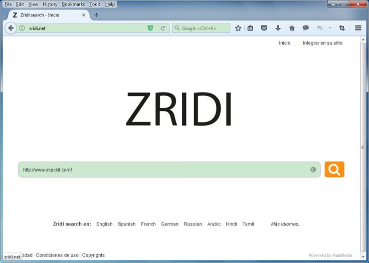 The default homepage is changed to zridi.net. It is no doubt that my computer has been infected by browser hijacker. I have encountered browser hijacker infection before but this is super difficult to remove. This nasty virus causes redirection when I am using the infected browser. To force me to use its service, it automatically replaces the homepage to its domain. I tired some removal methods that I use before but I still can not get rid of it.