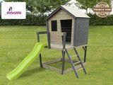 Speelhuisje met veranda kopen EXIT Aksent Bestel NU!               -         De Bruine Schommels
