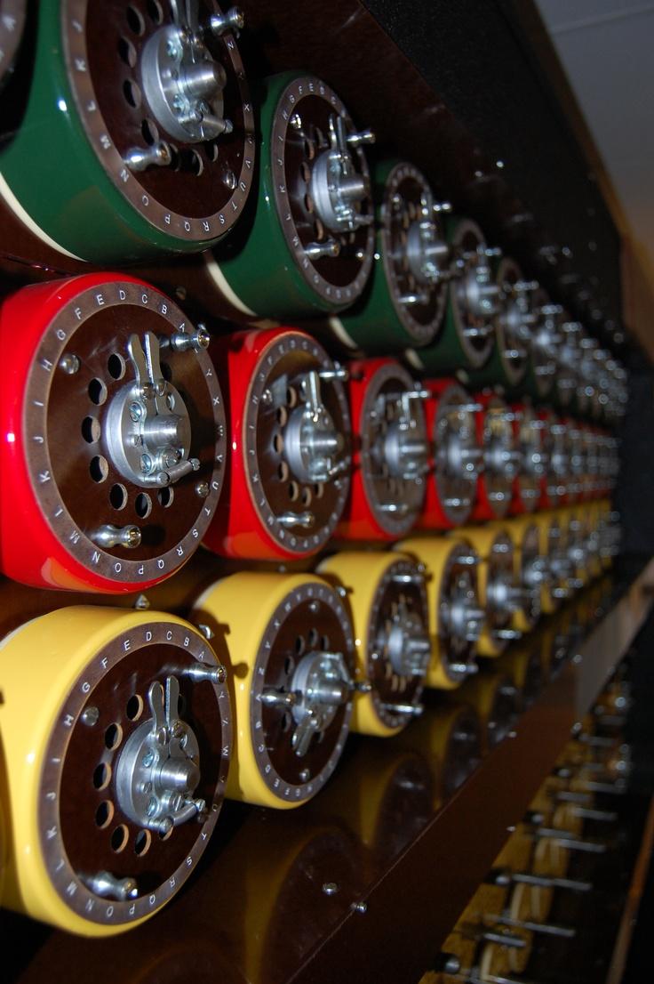 Bletchley Park Bombe, codebreaking machine
