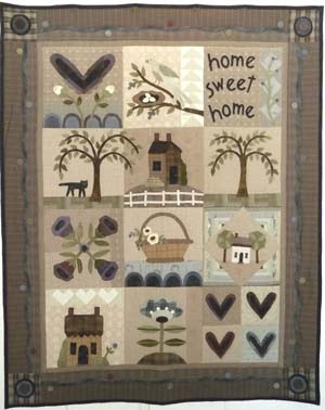 I absolutely love the primitive quilts.