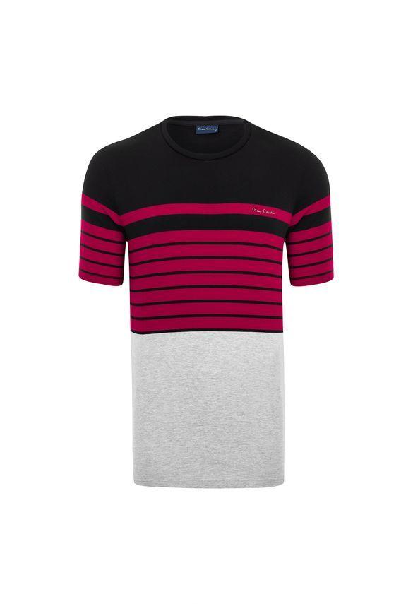 5ccd14fa70 Camiseta Listradora Black - Pierre Cardin Loja Oficial ...