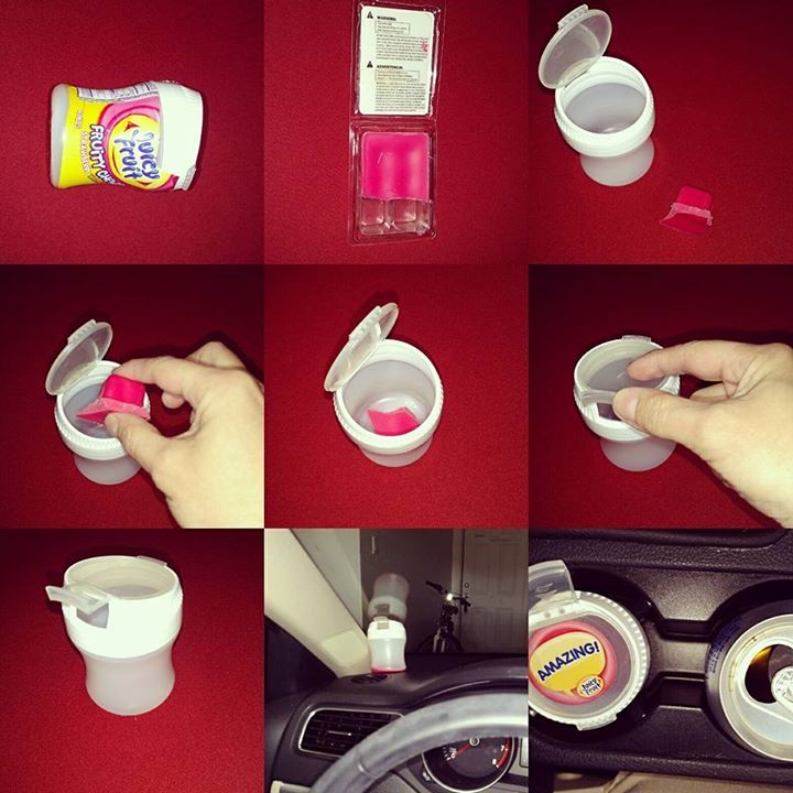 DIY air freshener. Have your car smell amazing with this ...
