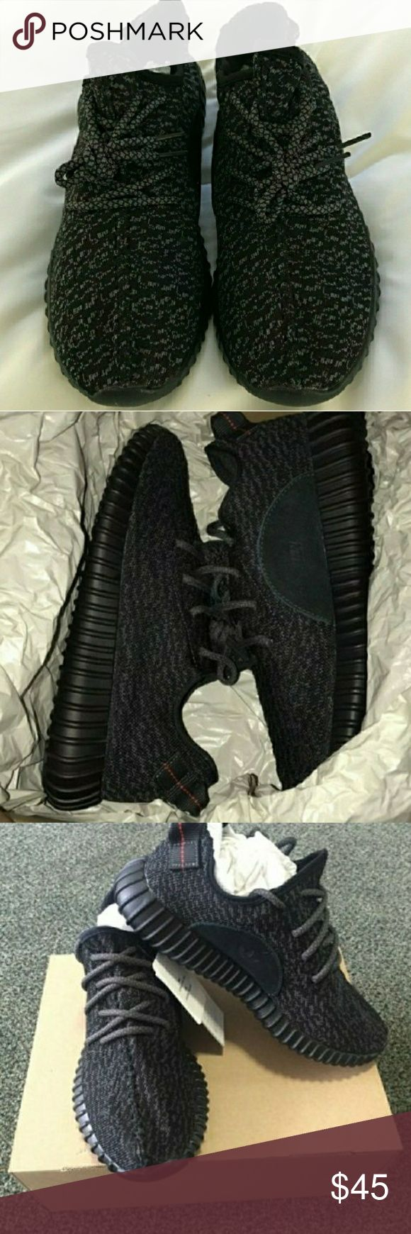 YEEZY BOOST REPLICAS Great pair of replicas! Brand new and never worn! Please know NO TRADES and PRICES FIRM!  🦋 BOX NOT INCLUDED. adidas Shoes Athletic Shoes