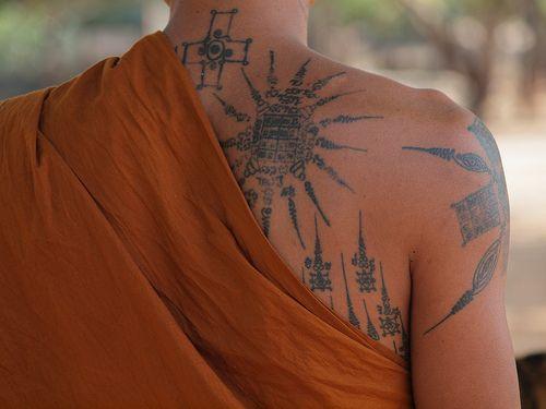Monk's tattoos