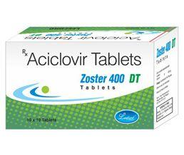 how to take acyclovir 400 mg