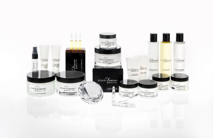STOCK DIAMOND Facial and Body Cosmetics. Products to find here: www.stock-diamond.com