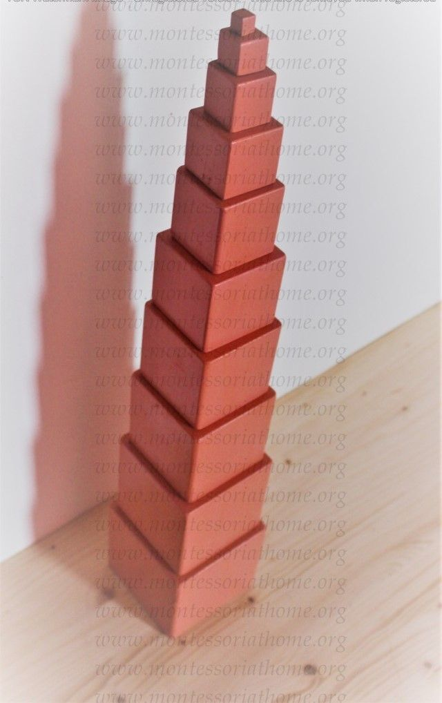 Torre rosa Montessori.