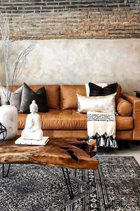 45 Best Dark Brown Leather Couch Design Ideas In 2020 Part 6 Dark Brown L Brown Leather Couch Living Room Leather Couches Living Room Living Room Leather