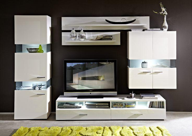 Best Wohnwand Weiss Ideas On Pinterest Wohnzimmer Akzente