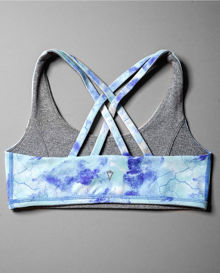 this reversible sports bra will move with you as you stretch and spin all day. | Vitality Sports Bra