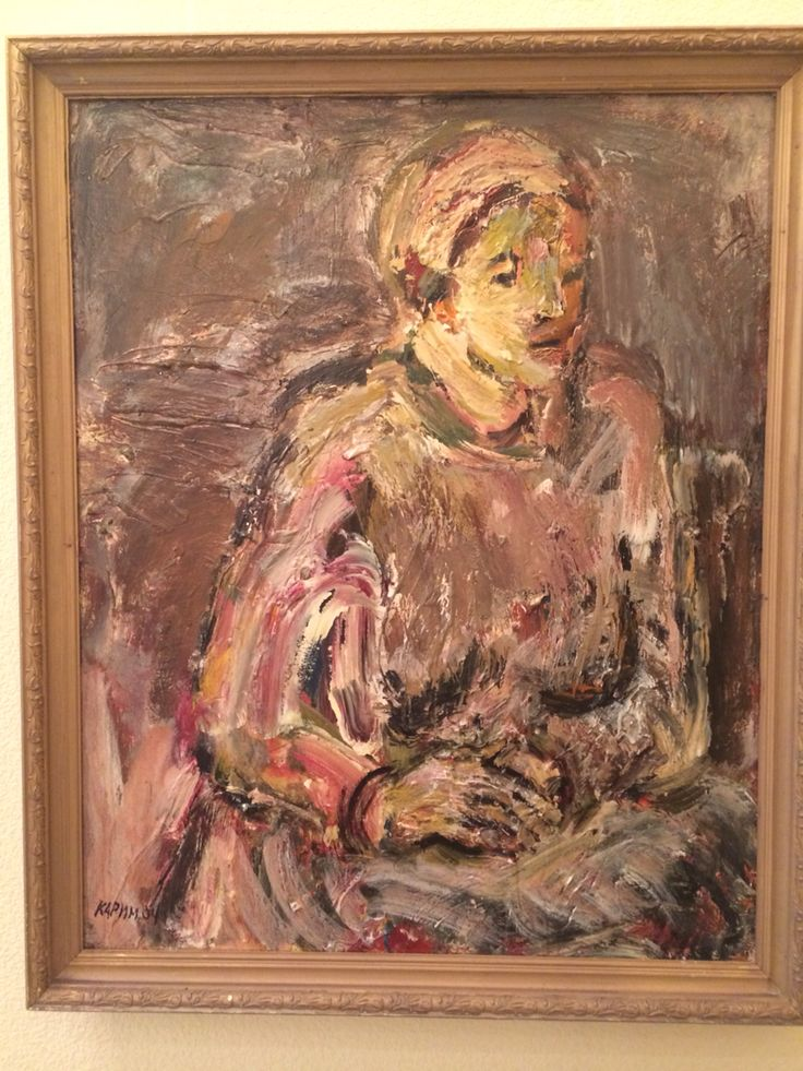 Karimullin Ravkat. Oil on canvas 60/80 cm. 2004.