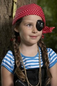 carnaval #DIY Leather Eye Patches
