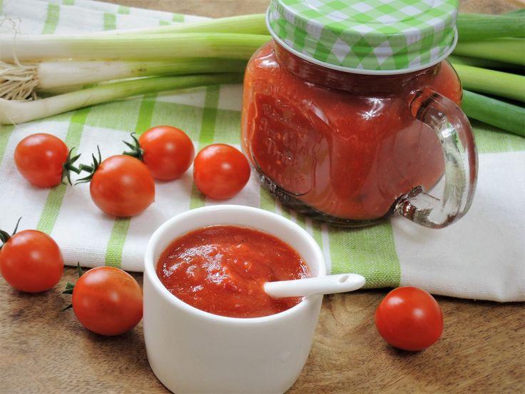 Když kečup, tak domácí a nabitý vitamíny :)