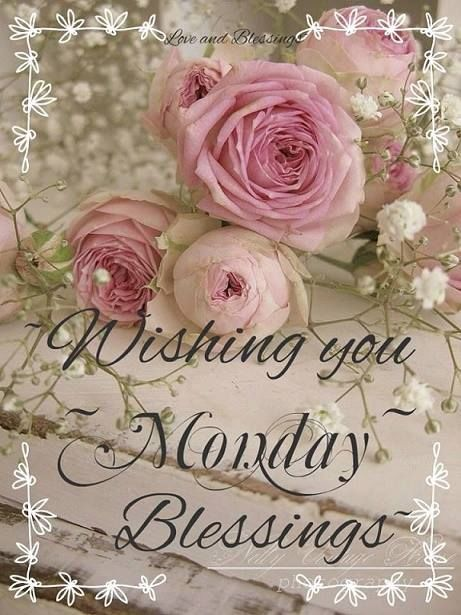 Wishing You Monday Blessings monday monday quotes monday pictures monday images