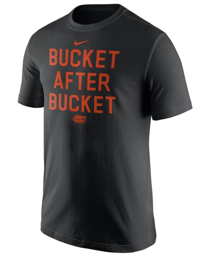 Nike Men's Florida Gators Basketball Buckets Verbiage T-Shirt