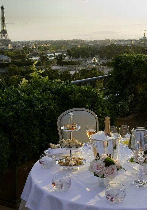 Enjoy the view while fine dining