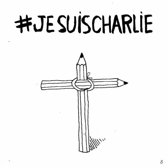 http://www.elle.fr/Societe/News/Charlie-Hebdo-les-illustrateurs-du-monde-entier-rendent-hommage-au-journal/Pomme_cul-illustrateur-francais