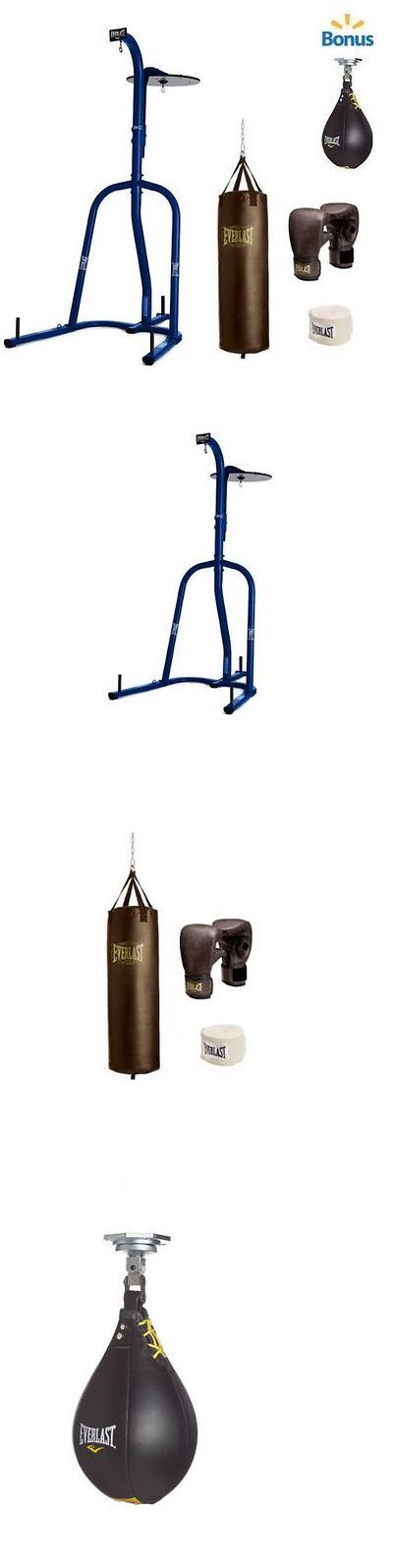 Punching Bags 30101: Dual Station Heavy Bag Stand With 100Lb. Kit And Speedbag Boxing Punching Training -> BUY IT NOW ONLY: $223.89 on eBay!