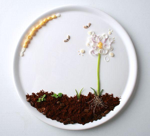 Springtime Food Illustration
