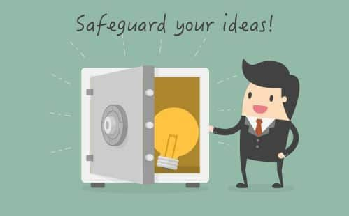 Worried about #idea theft? 5 simple steps to prevent your #startup idea from being #stolen!