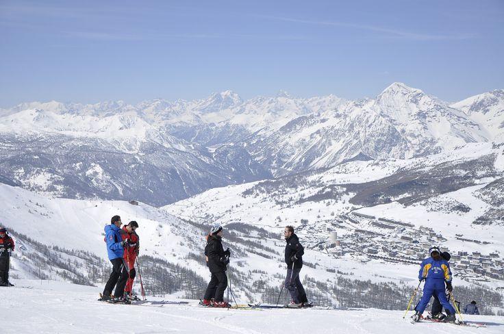 Sestriere Ski Italy