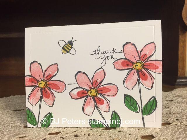 Garden in Bloom, Stampin' Up!, BJ Peters, #stampinBJ.com