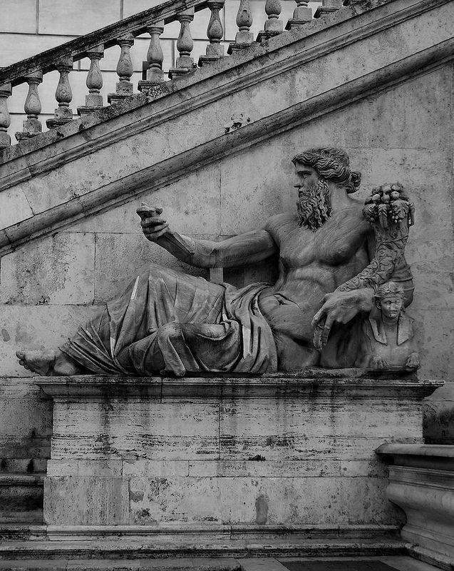 Fontana della dea Roma - Il Nilo   da Vitto P.
