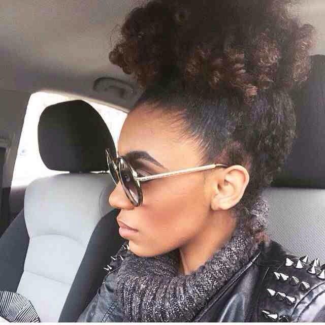 Curly Bun ✅