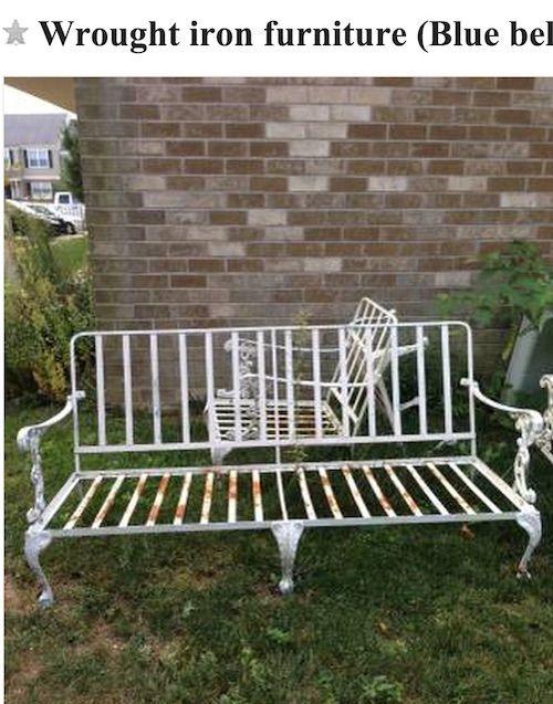 Craigslist Outdoor Patio Furniture.Craigslist Score Vintage Patio Furniture Powder Coating Garden