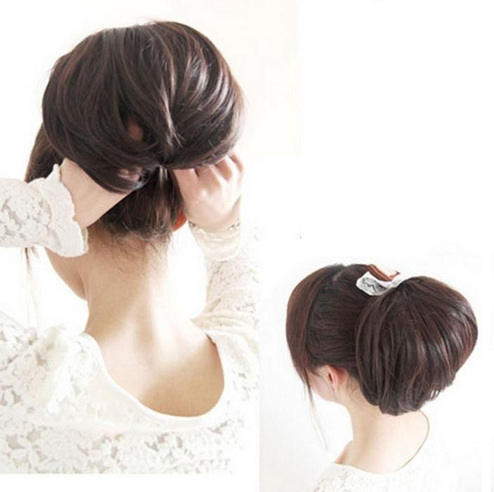 Get the Look: Easy to Do Chignon Updo with the 'Bun Donut ...