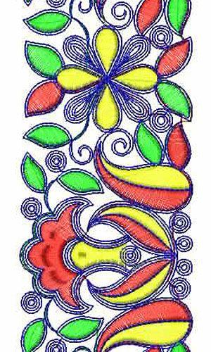 Kaftan Islamic Clothing Lace Border Embroidery Design