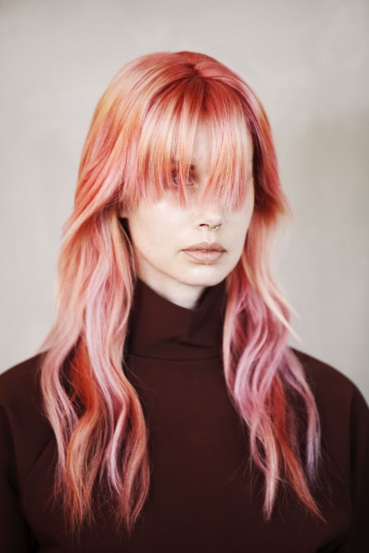 Hairdresser of the year, Stockholm 2018.   Photographer: Linda Andersson,  Hair stylist: Sophia Geideby Makeup artist: Rosemarie Eggertz Designer: Malin Delin Stylist: Chantima Maedner Model: Agnes