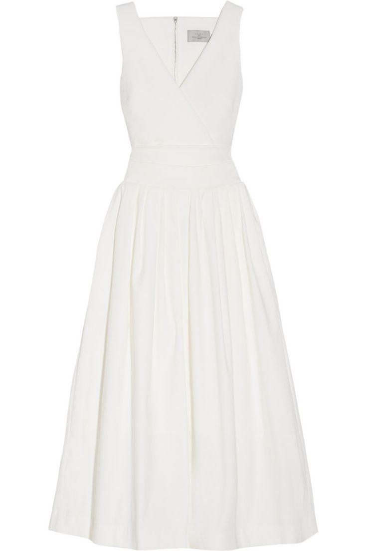 Preen by Thornton Bregazzi|Cutout stretch-crepe dress|NET-A-PORTER.COM