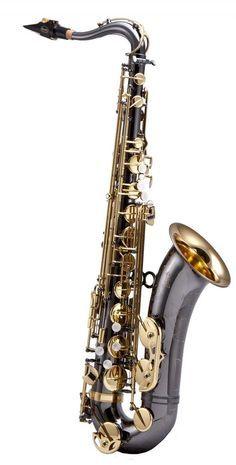 Keilwerth SX90R Tenor Saxophone - Black Nickel Plated/Gold Keys.