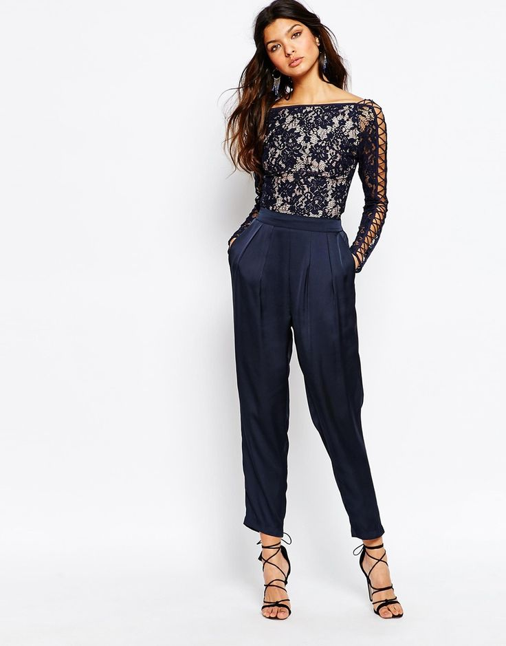 Image 4 ofThe Jetset Diaries Piazza Bodysuit in Midnight