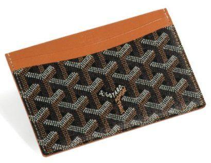 Card holder by GOYARD   Other men s fashion items we luv   Pinterest    Portefeuille, Porte carte et Vetements b52d0701ae2
