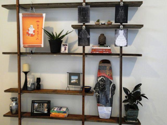 Diy Floating Walls Shelf Plans Bookcases Etc Pinterest