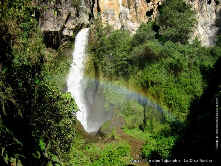 Colombia - Aguas termales de Tajumbina, La Cruz, Nariño.