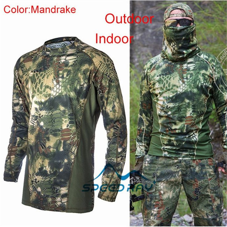$23.50 (Buy here: https://alitems.com/g/1e8d114494ebda23ff8b16525dc3e8/?i=5&ulp=https%3A%2F%2Fwww.aliexpress.com%2Fitem%2FMilitary-Kryptek-Camouflage-Tactics-Hunting-Clothes-Air-softs-ports-T-shirt-Tactical-Sniper-Suit-Paintball-Wargame%2F32684376363.html ) Military Kryptek Camouflage Tactics Hunting Clothes Air softs ports T-shirt Tactical Sniper Suit Paintball Wargame Gear for just $23.50