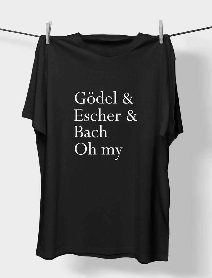 Godel Escher Bach Crewneck Unisex T-Shirt, Men's and Women's Unisex Tee