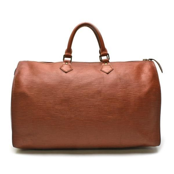 Louis Vuitton Speedy 40 Epi Handle bags Brown Leather M42983